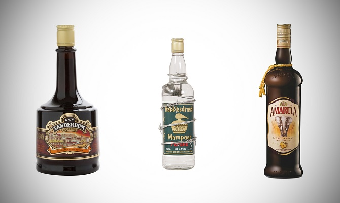 South African Liquors, Van der Hum, Mampoer and Amarula
