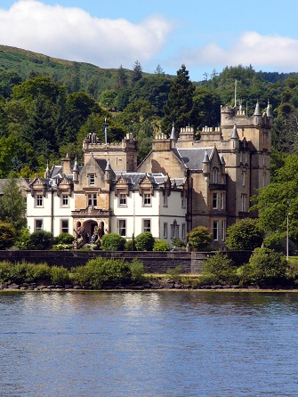 Cameron House, at the Southern tip of Loch Lomond, Scotland