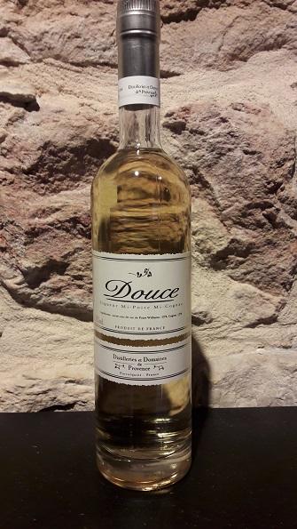 Douce, half pear/half cognac 30% alc/vol