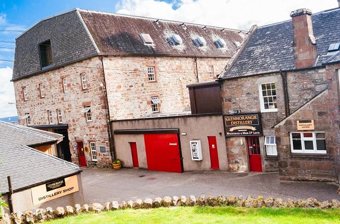 Glenmorangie Distillery, Scotland