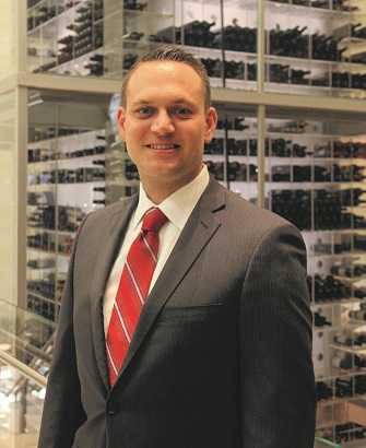 Mandalay Bay's director of wine Harley Carbery