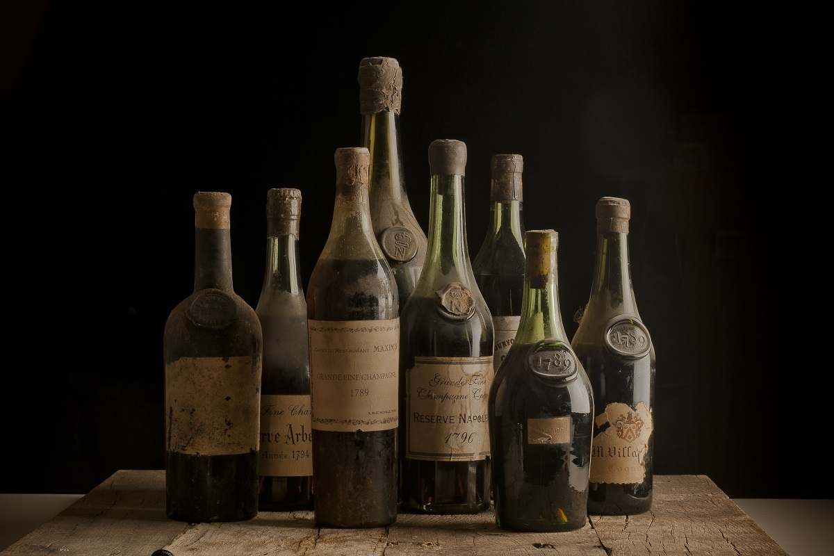 Old Liquors Collection 18th century cognac