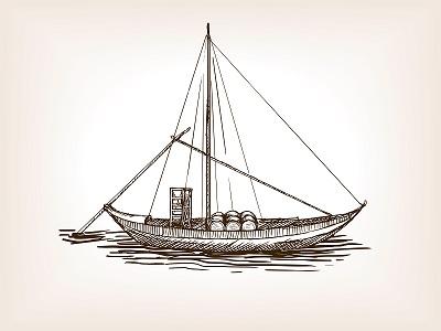 Cognac Barge
