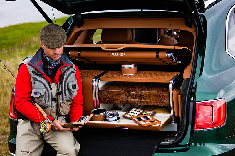 Bentley Bentayga Fly Fishing by Mulliner The Ultimate Angling Accessory