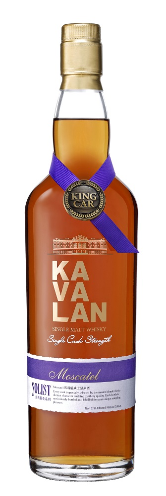Kavalan Solist Moscatel Sherry Single Cask Strength Single Malt Whisky