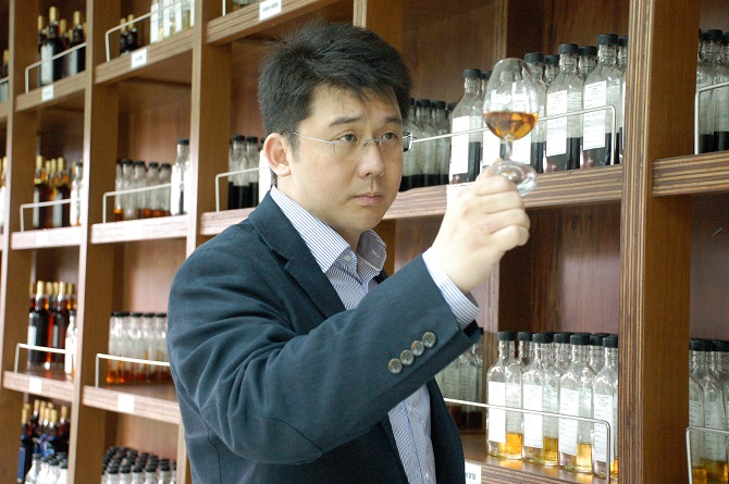Kavalan's Master Blender Ian Chang. Photo credit: Kavalan