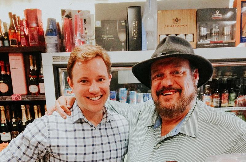 Ryan Wegman (left)