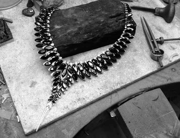 Jewelery in the making