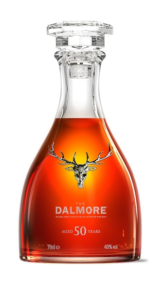 The Dalmore 50 is held in skilfully created crystal decanters made by French crystal house Baccarat