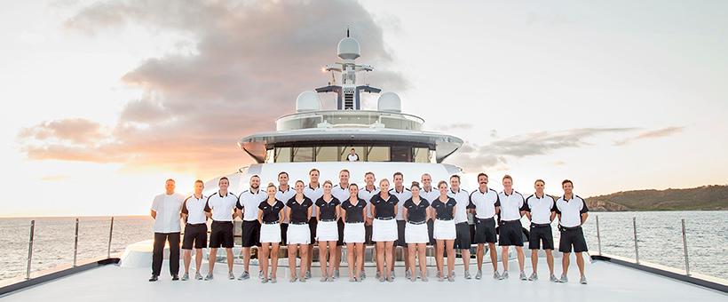 Crew superyacht