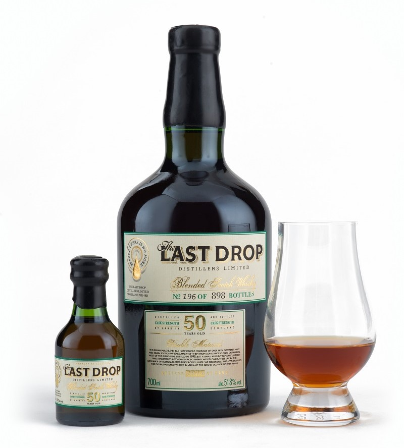 The Last Drop 50 YO Blended Scotch Whisky