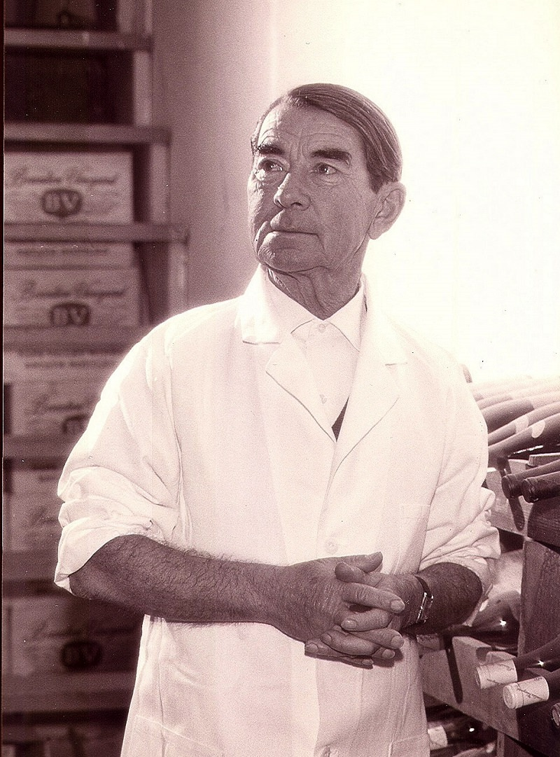 Andre Tchelistcheff in the Mid-50s (Photo Credit: BV Winery)