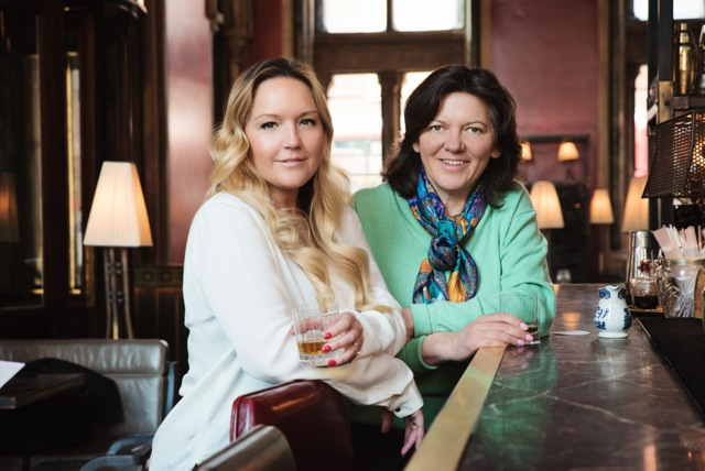 Golden Decanters' Founders: Julia and Ann